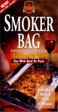 Traditional Finland B-B-Q Beef & Pork Flavor Smoker Bag!