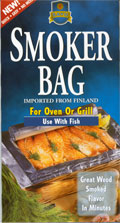 Traditional Finland B-B-Q Seafood Fish Flavor Smoker Bag!